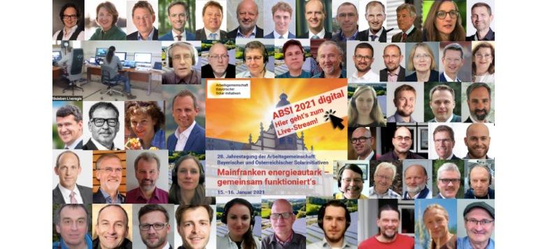 ABSI Schweinfurt - Tagung - Colage - digital - 2021